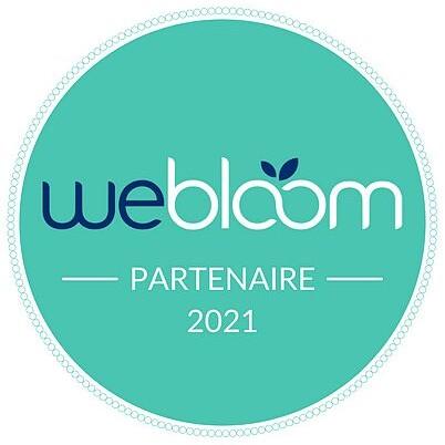 Badge partenaire WeBloom 2021 large